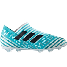 Adidas Nemeziz Messi 17+ 360Agility Youth FG Soccer Cleats (White/Legend Ink/Energy Blue) |  Adidas Soccer Cleats |FREE SHIPPING| Adidas BY2404 |  SOCCERCORNER.COM