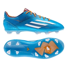 Adidas Soccer Cleats |FREE SHIPPING| Adidas D67210| Adidas F50 adizero (Synthetic) Youth TRX FG Soccer Cleats (Solar Blue/Running White/Solar Zest) |