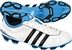 Adidas adiNOVA IV TRX FG Youth Soccer Cleats (White/Black/Fresh Splash)