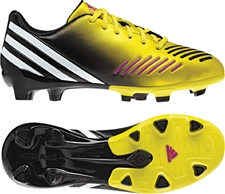 Adidas Predator Absolado LZ TRX FG Youth Soccer Cleats (Vivid Yellow/Running White/Black)