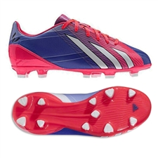 Adidas F10 TRX FG Messi Youth Soccer Cleats (Turbo/Black/Running White)