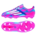 Adidas F10 TRX FG Youth Soccer Cleats (Solar Pink/Running White/Solar Blue)