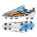 Adidas Soccer Cleats |FREE SHIPPING| Adidas M17614 | Adidas F50 adizero-Messi Battle Pack  (Synthetic) Youth TRX FG Soccer Cleats (Core White/Solar Gold/Black)