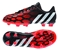 Adidas Predator Instinct FG Youth Soccer Cleats (Core Black/Core White/Solar Red)