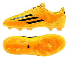 Adidas F50 adizero-Messi (Synthetic) Youth TRX FG Soccer Cleats (Solar Gold/Black) |  Adidas Soccer Cleats |FREE SHIPPING| Adidas M17691|  SOCCERCORNER.COM