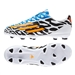 Adidas F10 TRX FG Messi Battle Pack Youth Soccer Cleats (Core White/Solar Gold/Black)