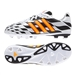 Adidas 11Nova Battle Pack TRX FG Youth Soccer Cleats (Core White/Solar Gold/Black)