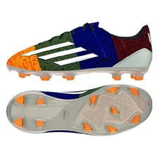 Adidas F50 adizero Messi (Synthetic) Youth FG Soccer Cleats (Solar Gold/White/Earth Green) |  Adidas Soccer Cleats |FREE SHIPPING| Adidas M21778 |  SOCCERCORNER.COM
