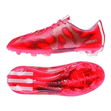 Adidas F50 adizero (Synthetic) Youth TRX FG Soccer Cleats (Solar Red/White/Black) |  Adidas Soccer Cleats |FREE SHIPPING| Adidas M29265|  SOCCERCORNER.COM