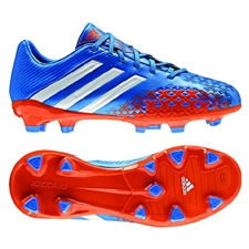 Adidas Predator Absolado LZ TRX FG Youth Soccer Cleats (Pride Blue/Running White/Orange)