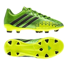 Adidas Predator LZ TRX FG Youth Soccer Cleats (Ray Green/Black)