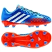 Adidas Predator LZ TRX FG Youth Soccer Cleats (Pride Blue/Running White/Orange)