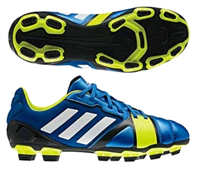 Adidas Nitrocharge 2.0 TRX FG Youth Soccer Cleats (Blue Beauty/Running White/Electricity)