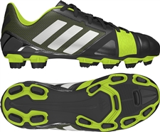 Adidas Nitrocharge 2.0 TRX FG Youth Soccer Cleats (Black/Metalic Silver/Electricity)