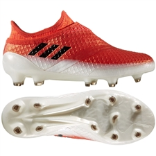 Adidas Messi 16+ PureAgility Youth FG Soccer Cleats (Red/Black/White)