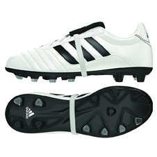Adidas El Gloro Youth FG Soccer Cleat (White/Black)