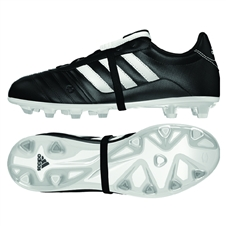 Adidas El Gloro Youth FG Soccer Cleat (Black/White)
