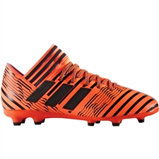 Adidas Nemeziz 17.3 Youth FG Soccer Cleats (Solar Orange/Core Black) |  Adidas Soccer Cleats |FREE SHIPPING| Adidas S82428 |  SOCCERCORNER.COM