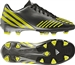 Adidas Predator Absolion LZ TRX FG Youth Soccer Cleats (Black/Lab Lime/Neo Iron Met)