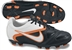 Nike CTR360 Libretto II FG Youth Soccer Cleats (Black/Total Orange/White)