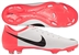 Nike Mercurial Glide III FG Youth Soccer Cleats (White/Solar Red/Black)