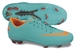 Nike Mercurial Vapor VIII FG Youth  Soccer Cleats (Retro/Challenge Red/Total Orange)
