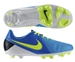 Nike CTR360 Libretto III FG Youth Soccer Cleats (Current Blue/Volt)