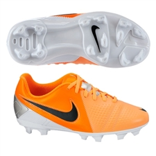 Nike CTR360 Libretto III FG Youth Soccer Cleats (Atomic Orange/Total Orange/Black)
