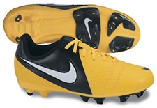 Nike CTR360 Libretto III FG Youth Soccer Cleats (Citrus/Black/White)