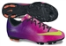 Nike Youth Mercurial Victory IV  FG Soccer Cleats (Fireberry/Red Plum/Black/Electric Green)