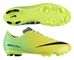 Nike Youth Mercurial Victory IV FG Soccer Cleats (Vibrant Yellow/Black/Neo Lime)