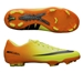 Nike Youth Mercurial Vapor IX FG Soccer Cleats (Volt/Bright Citrus/Black)