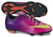 Nike Youth Mercurial Veloce FG Soccer Cleats (Fireberry/Red Plum/Black/Electric Green)