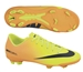 Nike Youth Mercurial Veloce FG Soccer Cleats (Volt/Bright Citrus/Black)