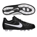 Nike Tiempo Rio II FG Youth Soccer Cleats (Black/White)