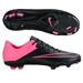Nike Youth Mercurial Vapor X FG Soccer Cleats (Black/Hyper Pink)