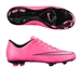 Nike Youth Mercurial Vapor X FG Soccer Cleats (Hyper Pink/Black)