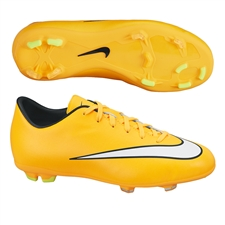 Nike Youth Mercurial Victory V FG Soccer Cleats (Laser Orange/Black/Volt/White)
