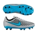 Nike Magista Onda FG Youth Soccer Cleats (Wolf Grey/Black/Turquoise Blue)