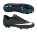 Nike Mercurial Vapor X CR7 FG Youth Soccer Cleats (Black/Neo Turquoise/Space Blue/White)