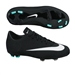 Nike Mercurial Victory V CR7 FG Youth Soccer Cleats (Black/Neo Turquoise/White)