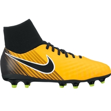 Nike Youth Magista Onda II DF FG Soccer Cleats (Laser Orange/Black/White/Volt)