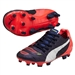 Puma evoPOWER 1.2 Youth FG Soccer Cleats (Peacoat/White/Bright Plasma)