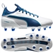 Puma Youth evoTOUCH 1 FG Soccer Cleats (Puma White/True Blue/Blue Danube)