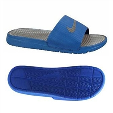 Nike Men's Benassi Solarsoft Slide Sandal (Game Royal)