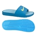 Nike Men's Benassi Solarsoft Soccer Sandal (Neptune Blue/Tide Pool Blue/White/Volt)