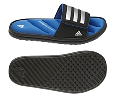 Adidas Youth Zeitfrei Slide K (Black/Black/Metallic Silver)