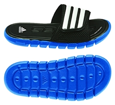 Adidas adiLight SC xJ Youth Soccer Sandal (Prime Blue/Running White/Black)