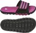 Adidas adiLight SC xJ Youth Soccer Sandal (Black/IntensePink/White)