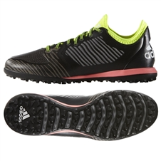 Adidas X 15.1 CG Turf Soccer Shoe (Black/Iron Metallic/Solar Yellow)